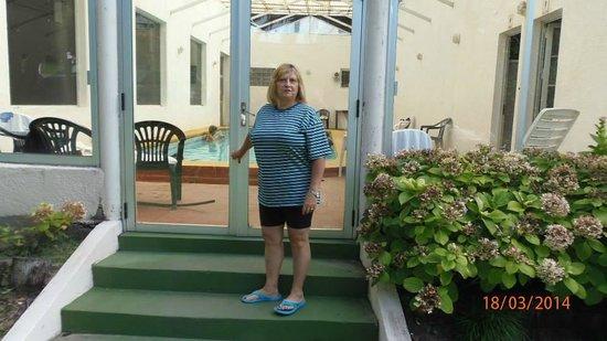 Select Hotel Piriapolis: entrada a la pileta