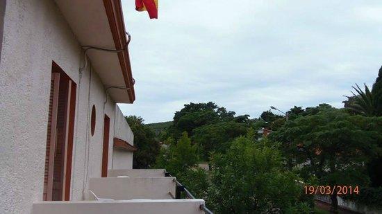 Select Hotel Piriapolis: vista desde la terraza comun