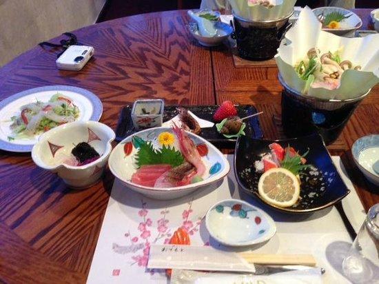 Ikenotaira Hotel Saison: 夕食