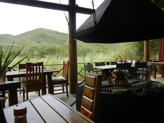 Nyaru Private Game Lodge: Dining amongst nature!