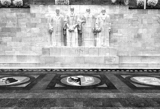 Reformation Wall (Mur de la Reformation): Three foundator
