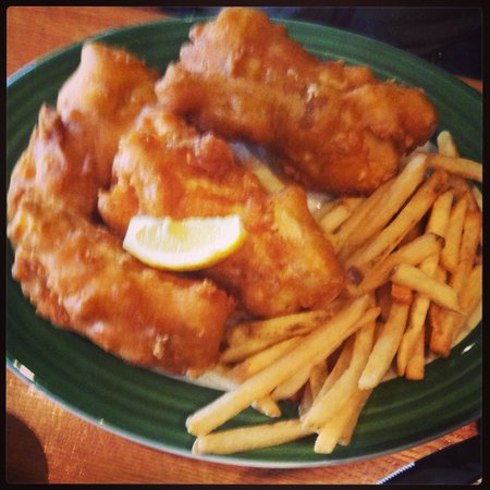 Chad's West Coast Grill and Bar : Fish & chips