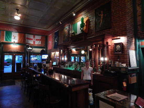 The Monarch Public House: Original bar from 1894. Wisconsin's oldest
