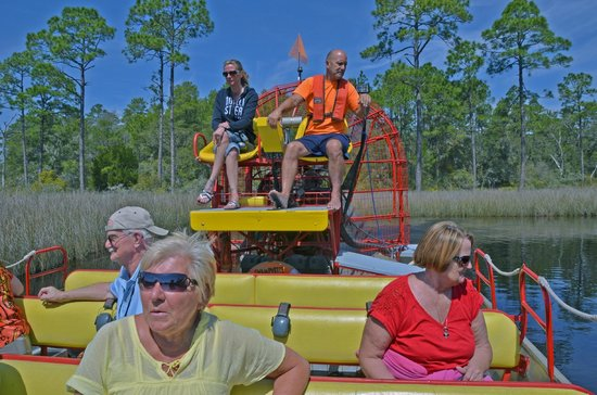 Airboat Adventure: Great fun