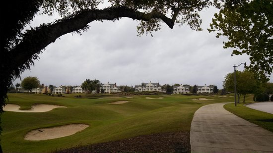 Reunion Resort of Orlando : View of golf course near room.