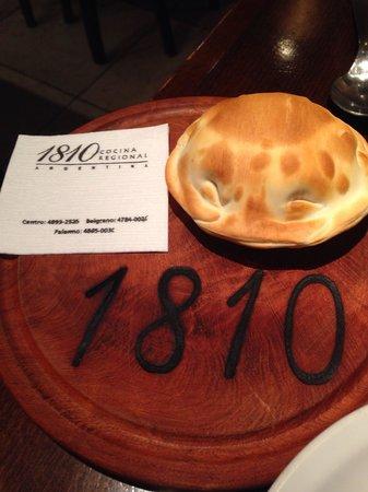 1810 Cocina Regional Argentina: Deliciosas empanadas!
