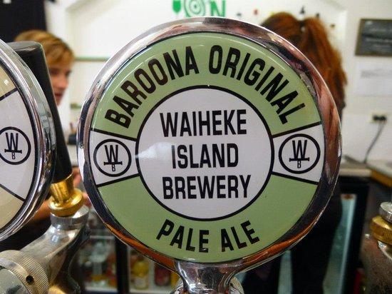 Fullers - Wine on Waiheke Tour : beer at wild on waiheke