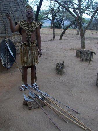 Protea Simunye Zulu Lodge: Nachhilfeunterricht für Touristen
