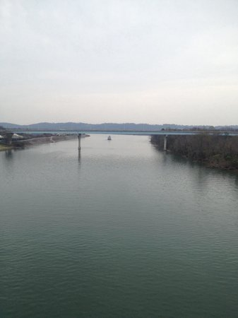 Walnut Street Bridge: Great Views!!!