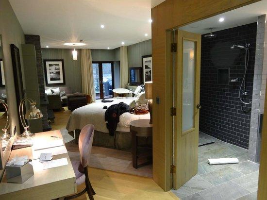 Brimstone at Langdale: Bedroom from the door