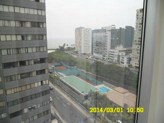 Radisson Hotel Decapolis Miraflores: Vista desde la habitacion