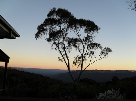 Valley of the Waters B & B : Brilliant sunsets at the B&B