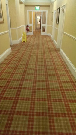 Crieff Hydro Hotel and Resort: The spooky corridor