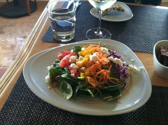 Dazoo: Upcountry salad... locally sourced