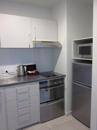 Quest Rotorua Central : Kitchen in 1-br apt