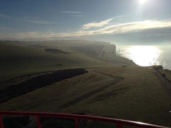 Belle Tout Lighthouse: morning view