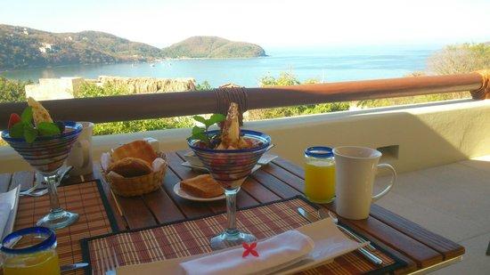 Hotel Cinco Sentidos : Desayuno