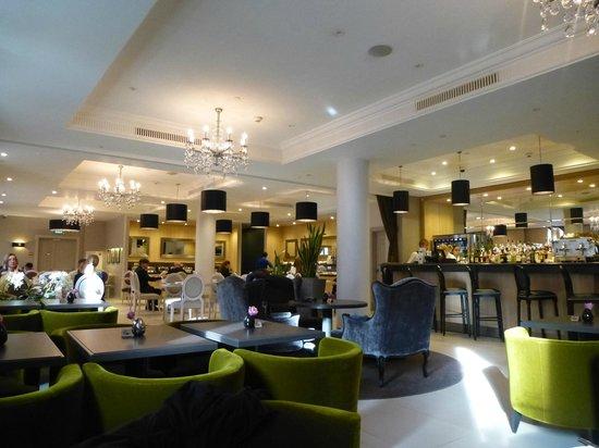 Mercure Arbat Moscow: Bar/lounge area