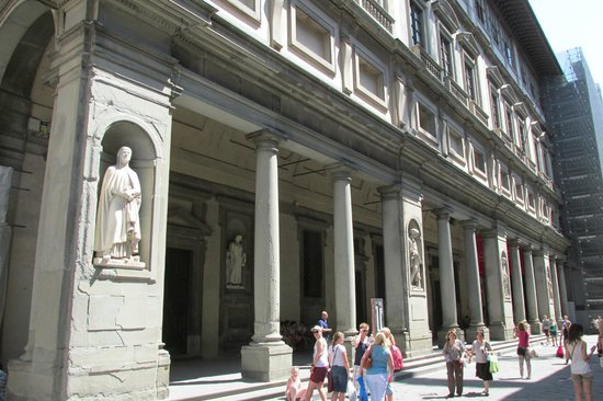 Galerie des Offices : Exterior