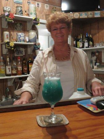 Seascape Inn, Andros : Our host