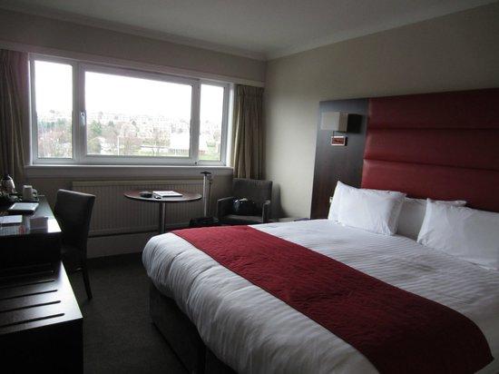 Glasgow Pond Hotel: zona letto