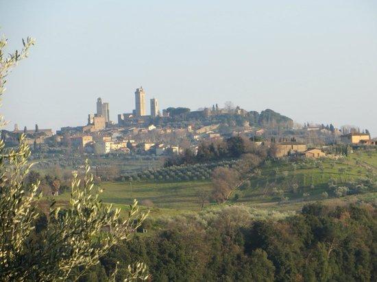 Appartementi Casa la Torre - Nomipesciolini: View of the town.