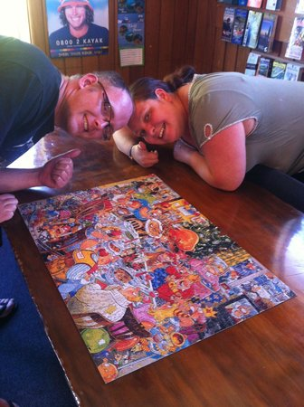 Berkenhoff Lodge: puzzle time