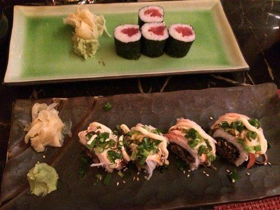 Hyatt Regency Trinidad: Awesome sushi - Dynamite Roll by Chef Joel and his team.