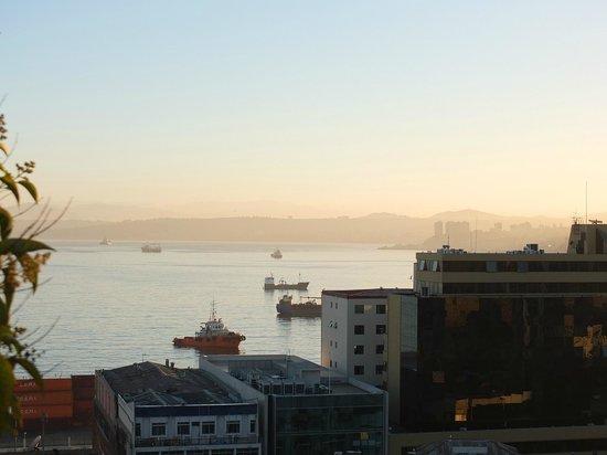 The Brighton: vista matinal de la bahia desde la habitacion Shakespeare