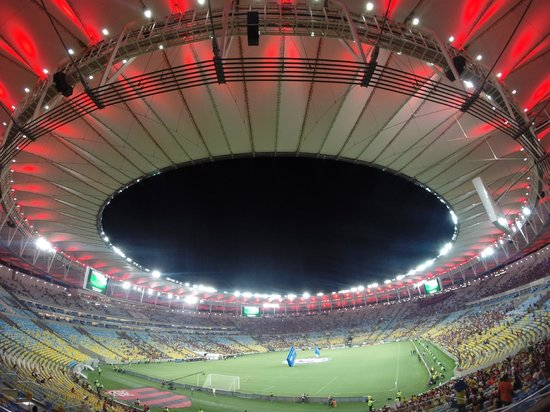 Maracana: View from my seat