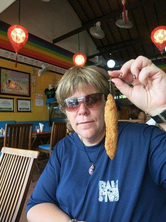 Taco Beach Grill: Atomic chilli