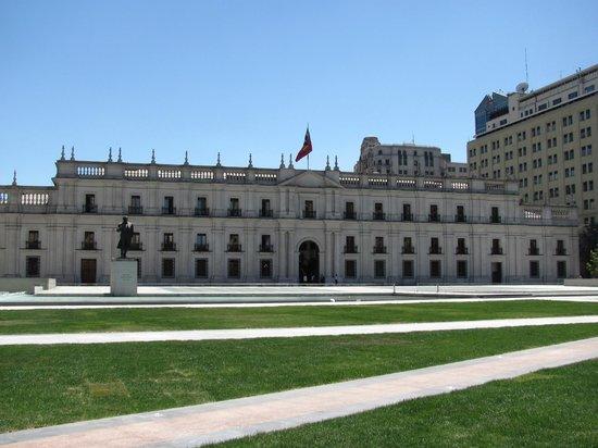 Contrafrente de La Moneda.