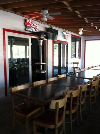 Praters BBQ Manchester: Back room for parties or meetings