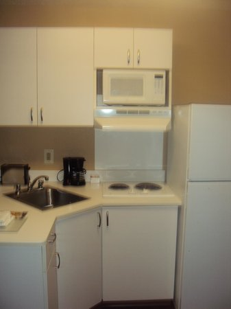 Extended Stay America - Mt. Olive - Budd Lake : Microwave, refrigerator, sink, and stove!