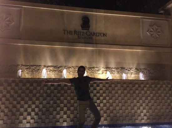 The Ritz-Carlton, Bangalore: front of the hotel