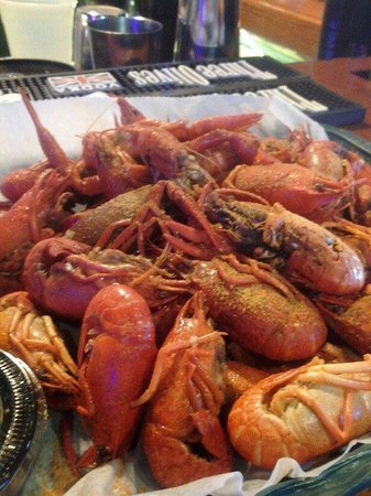 Bernie's Oyster House: Crawfish