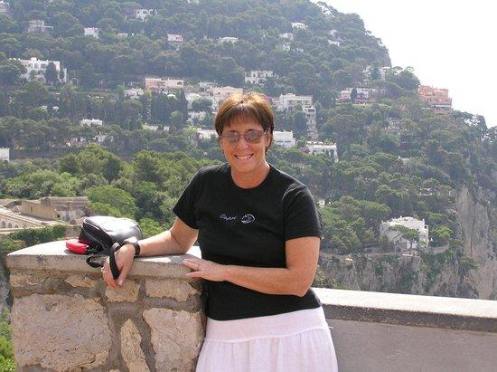 Hotel Regina Cristina: Overlooking the Sea from Capri