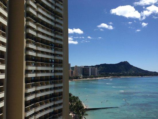 Sheraton Waikiki: Hotel View