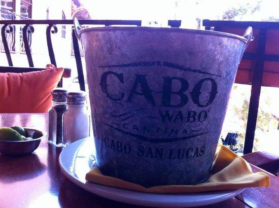 Cabo Wabo: buckets