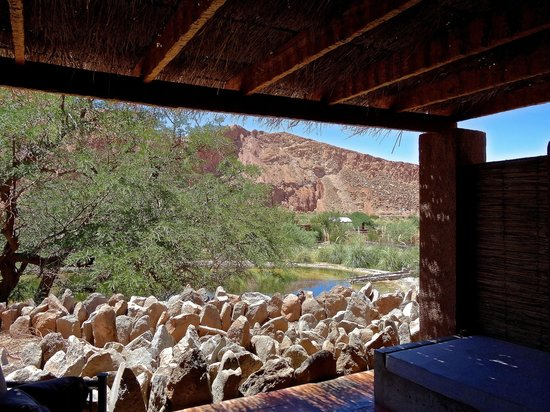 Alto Atacama Desert Lodge & Spa: View from our suite