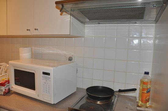 Radisson Hotel And Suites Sydney: Microwave, Toaster, Hot plates, Pot, Pan, microwaveable porcelains - Perfect for a mummy!