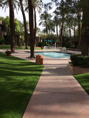 DoubleTree Resort by Hilton Paradise Valley - Scottsdale: Courtyard