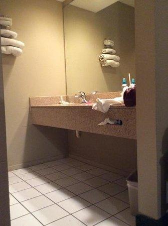 Inn of the Conchos: Bathroom area