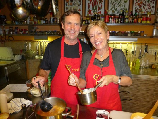 Chefparade Cooking School: We enjoyed learning the secret of those amazingly flavorful Hungarian sauces