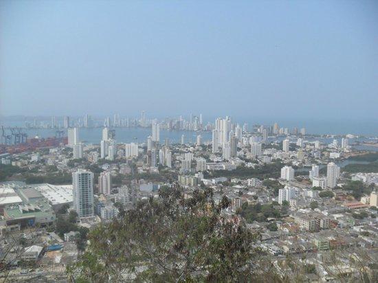 Occidental Cartagena : looking towards the new city of Cartagena, Colombia