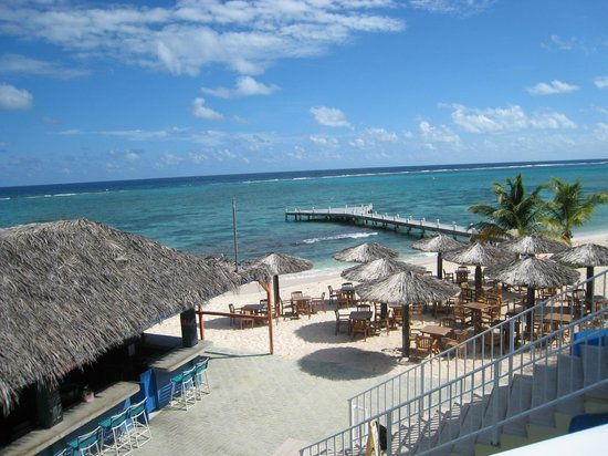 Wyndham Reef Resort : From the restaurant...