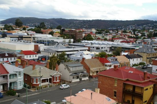 Best Western Hobart : View from room