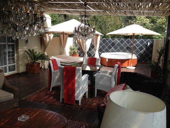The Residence Boutique Hotel: Room outdoor area
