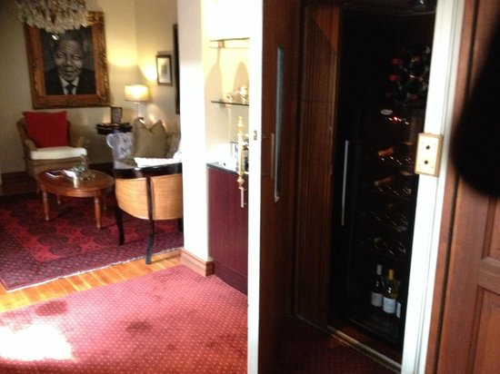 The Residence Boutique Hotel: Room Wine Cellar
