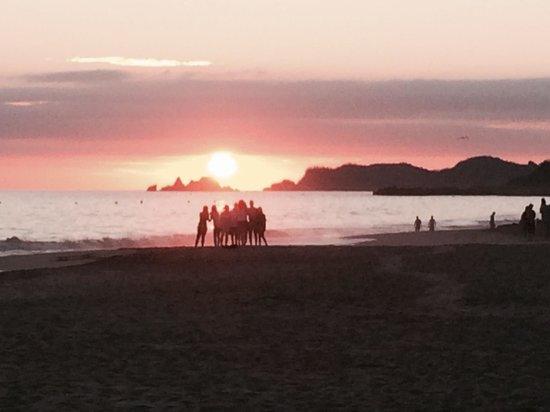 Park Royal Ixtapa: Sun set